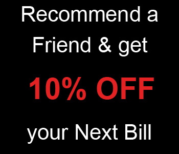 Recommend a friend and save!
